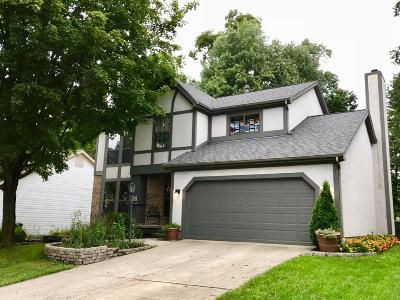 Gahanna Single Family Home Contingent Finance And Inspect: 5650 Beaver Head Court