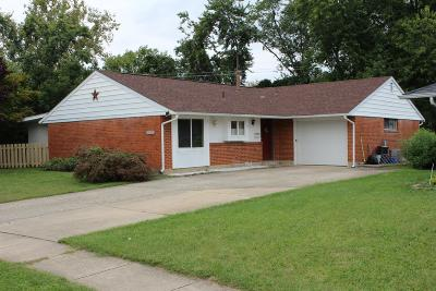 Reynoldsburg Single Family Home Contingent Finance And Inspect: 1809 Steckel Road