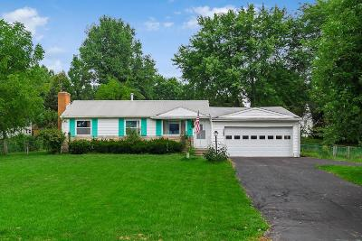 Groveport Single Family Home Contingent Finance And Inspect: 5410 Sims Road