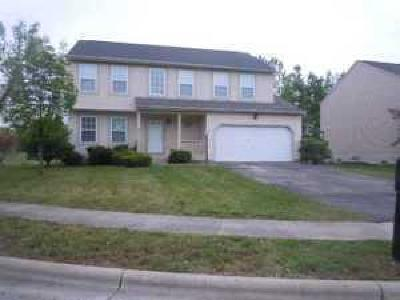 Pickerington Single Family Home Contingent Finance And Inspect: 128 Rolling Meadow Court