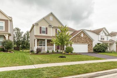 Blacklick Single Family Home Contingent Finance And Inspect: 1535 Morrison Farms Drive