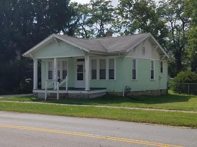 Reynoldsburg Single Family Home Contingent Finance And Inspect: 1451 Lancaster Avenue