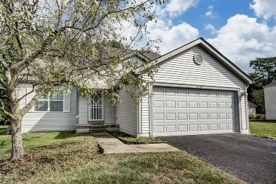 Canal Winchester Single Family Home Contingent Finance And Inspect: 6800 Winbarr Way