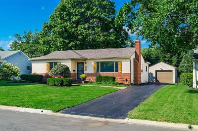 Hilliard Single Family Home Contingent Finance And Inspect: 5270 Wakefield Drive
