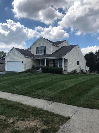 Canal Winchester Single Family Home Contingent Finance And Inspect: 7839 White Ash Court
