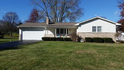 Westerville Single Family Home Contingent Finance And Inspect: 4821 Parkmoor Drive
