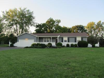 Plain City Single Family Home For Sale: 7310 Wells Road