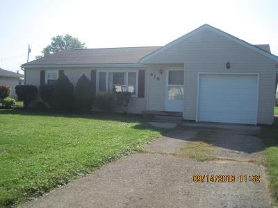 Washington Court House OH Single Family Home For Sale: $145,000