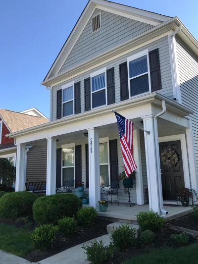Dublin Single Family Home For Sale: 5632 Lantos Road