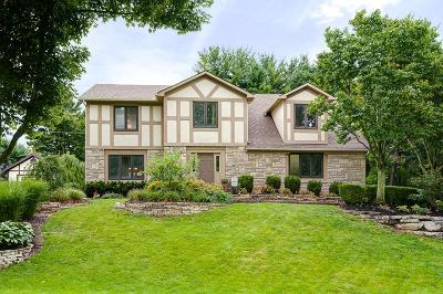 Hilliard Single Family Home For Sale: 4384 Shire Mill Road