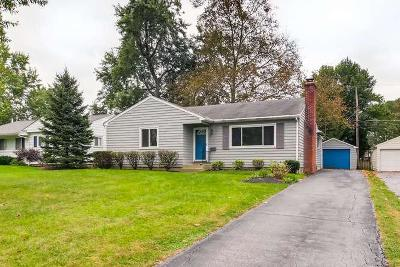 Columbus Single Family Home For Sale: 2617 Cranford Road