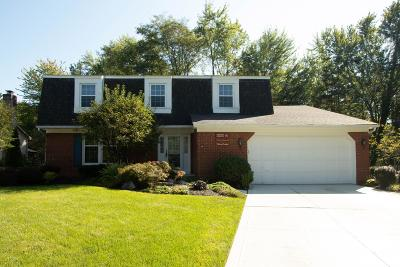 Westerville Single Family Home For Sale: 162 Keethler Drive S