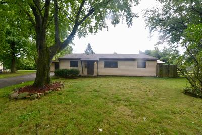 Columbus Single Family Home Sold: 1821 Alcoy Drive