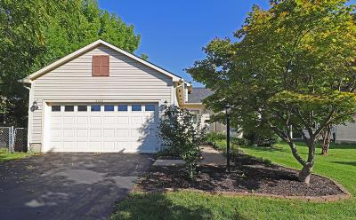 Hilliard Single Family Home For Sale: 5262 Morning Circle