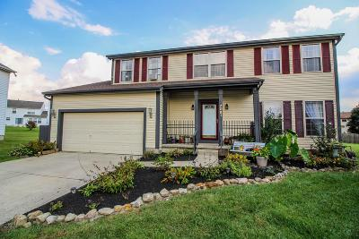 Reynoldsburg Single Family Home Contingent Finance And Inspect: 7091 Bryemar Drive