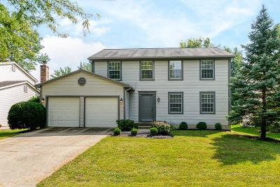 Westerville Single Family Home For Sale: 743 Suntree Drive