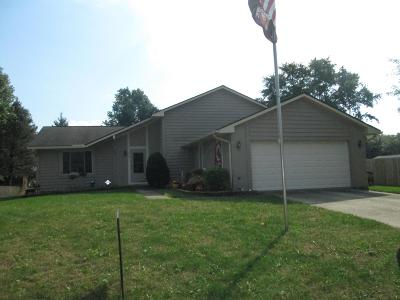 Reynoldsburg Single Family Home For Sale: 8163 Shaw Drive