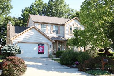 Westerville Single Family Home For Sale: 824 Lynnfield Drive