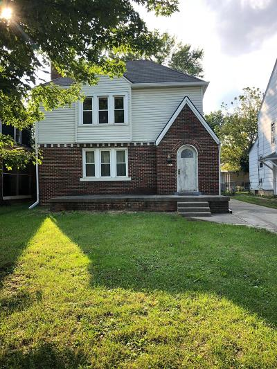 Columbus Single Family Home For Sale: 961 Lilley Avenue