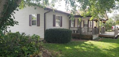 Washington Court House OH Single Family Home For Sale: $159,700