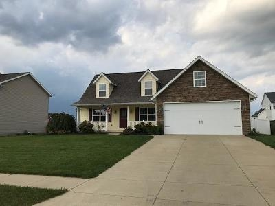 Centerburg Single Family Home For Sale: 10 Wildflower Drive