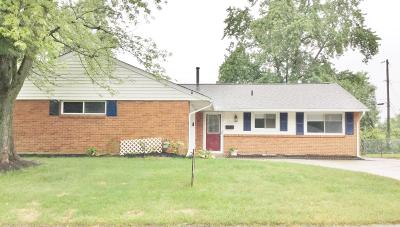 Reynoldsburg Single Family Home For Sale: 1721 Lucks Road