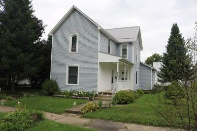 Mount Vernon OH Single Family Home For Sale: $90,000