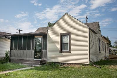 Columbus OH Single Family Home For Sale: $84,900