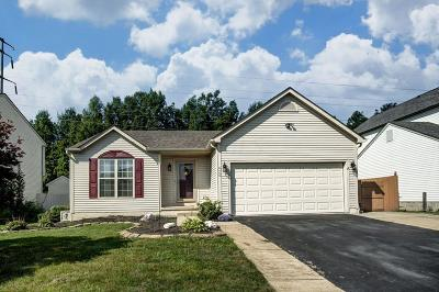 Lewis Center Single Family Home Contingent Finance And Inspect: 9069 Ellersly Drive