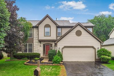 Dublin Single Family Home Contingent Finance And Inspect: 6050 Tuswell Drive