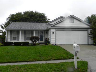 Pickerington Single Family Home Contingent Finance And Inspect: 7570 Plainfield Drive