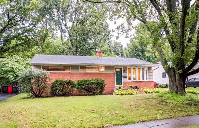 Worthington Single Family Home Contingent Finance And Inspect: 388 E Clearview Avenue