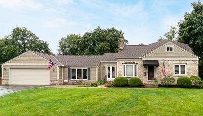 Upper Arlington Single Family Home For Sale: 1477 College Hill Drive
