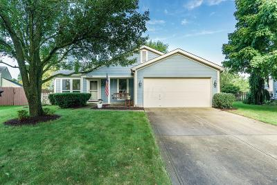 Hilliard Single Family Home Contingent Finance And Inspect: 2769 Ciniminson Court