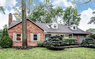 Columbus Single Family Home For Sale: 4311 Woodhall Road