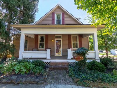 Canal Winchester Single Family Home Contingent Finance And Inspect: 53 W Mound Street