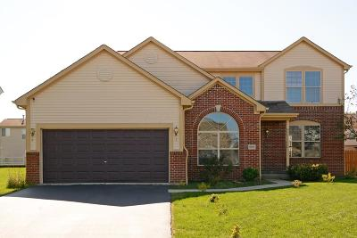 Reynoldsburg Single Family Home Contingent Finance And Inspect: 9055 Maren Court