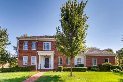 New Albany Single Family Home For Sale: 7627 Ogden Woods Boulevard