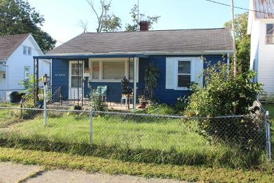 Circleville OH Single Family Home For Sale: $33,667