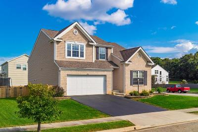 Pickerington Single Family Home Contingent Finance And Inspect: 633 Brevard Circle