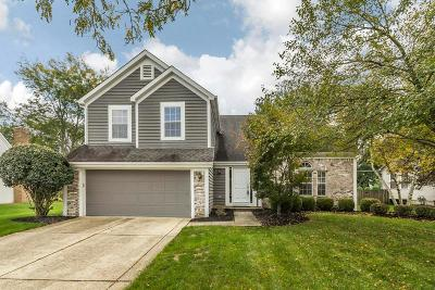 Hilliard Single Family Home Contingent Finance And Inspect: 3545 Boathouse Drive