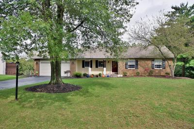 Pickerington Single Family Home Contingent Finance And Inspect: 11560 Windridge Drive NW