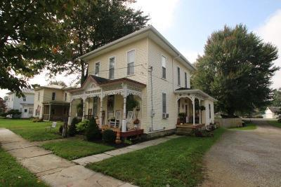 Centerburg Single Family Home For Sale: 89 S Hartford Avenue