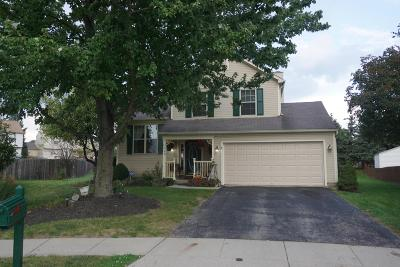 Reynoldsburg Single Family Home Contingent Finance And Inspect: 7330 Kilnstone Court