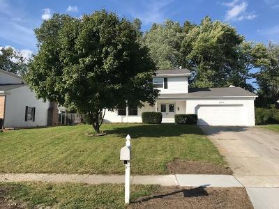 Reynoldsburg Single Family Home Contingent Finance And Inspect: 6672 Woodsedge Drive