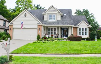 Reynoldsburg Single Family Home Contingent Finance And Inspect: 7483 Lismore Drive