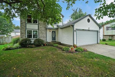 Pickerington Single Family Home Contingent Finance And Inspect: 3324 Wigham Court