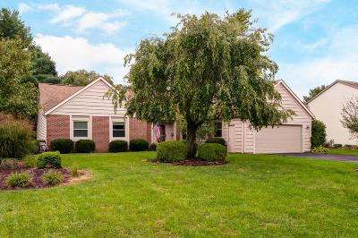 Pickerington Single Family Home Contingent Finance And Inspect: 12171 Raintree Avenue