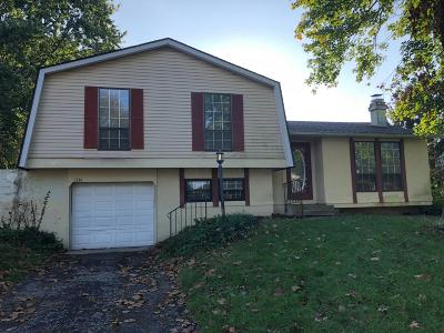 Reynoldsburg Single Family Home Contingent Finance And Inspect: 1334 Crestview Street