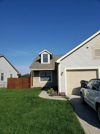 Grove City Single Family Home Contingent Finance And Inspect: 1724 Rock Creek Drive